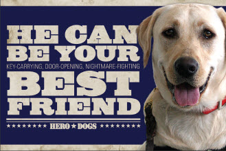 Hero Dogs' Best Friend
