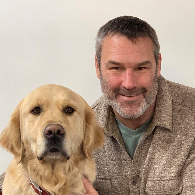 Kraig & Hero Dogs Hunter