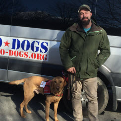 John-Mark & Hero Dogs Munro