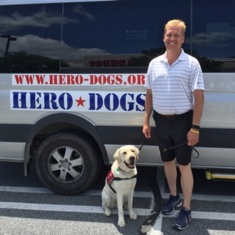 Tim & Hero Dogs Mitch