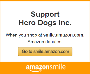 Hero Dogs on Amazon Smile