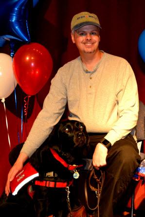 Veteran Bob W. and Hero Dogs Annie (2016)Hero Dogs Graduate