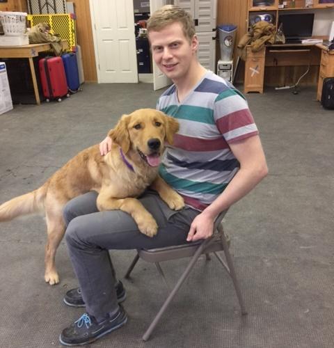 Dave & Hero Dogs Dominic