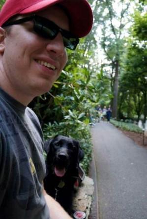 Luke & Hero Dogs Ike