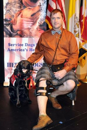 Veteran Kevin M. and Hero Dogs Mae  (2016)Hero Dogs Graduate