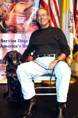 Veteran Mike H. and Hero Dogs Gracie (2016)Hero Dogs Graduate