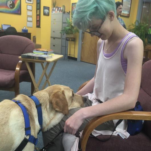 Maddie & Hero Dogs Scruggs